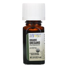 Масло орегано органик Aura Cacia (Oregano Oil) 7.4 мл