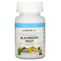 Ежевика Eclectic Institute (Blackberry Fruit) 480 мг 90 капсул