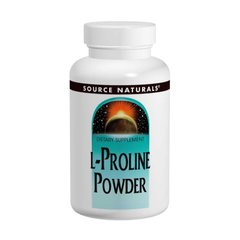 L-пролин в порошке Source Naturals (L-Proline Powder) 113 г