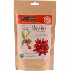 Ягоды годжи, Goji Berries, Wilderness Poets, 226.8 г
