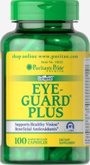 Охрана глаз Плюс, Eye Guard Plus, Puritan's Pride, 100 капсул
