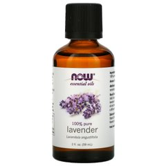 Лавандовое масло Now Foods (Essential Oils Lavender) 59 мл