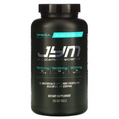 Омега-3, Omega-3, JYM Supplement Science, 120 мягких капсул