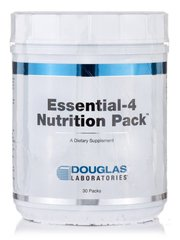 Эфирное натуральное масло, Essential-4 Nutrition, Douglas Laboratories, 30 пакетов