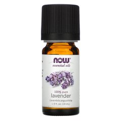 Масло лаванды Now Foods (Essential Oils Lavender) 10 мл