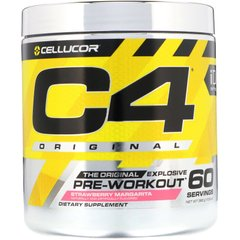 Энергетик C4 Ripped Preworkout клубника Cellucor 390 г