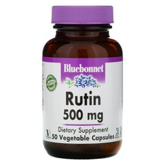 Рутин Bluebonnet Nutrition (Rutin) 500 мг 50 капсул