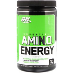 Амино энергия (Amino Energy), Optimum Nutrition, лимон/лайм, 270 грамм