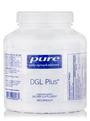 DGL Плюс, DGL Plus, Pure Encapsulations, 180 Капсул