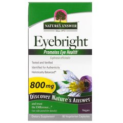 Очанка Nature's Answer (Eyebright) 800 мг 90 капсул