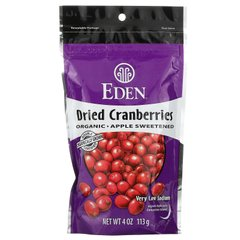 Сушеная клюква органик Eden Foods (Dried Cranberries) 113 г