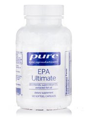 EPA Основной, EPA Ultimate, Pure Encapsulations, 120 Капсул