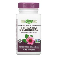 Эхинацея и гидрастис Nature's Way (Echinacea Goldenseal) 900 мг 180 капсул