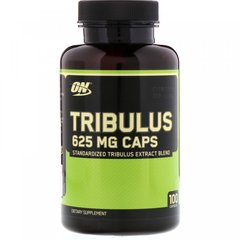 Трибулус, Optimum Nutrition, 625 мг100 капсул