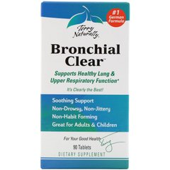 Очищение бронхов EuroPharma, Terry Naturally (Bronchial Clear) 90 таблеток
