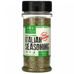 Итальянская приправа, без соли, Italian Seasoning, Salt Free, The Spice Lab, 42 г