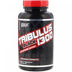 Трибулус черный 1300, Tribulus Black 1300, Nutrex Research, 120 капсул