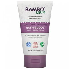 Шампунь + гель для душа, Bath Buddy Hair + Body Wash, Bambo Nature, 150 мл