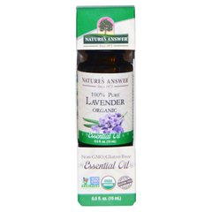 Лавандовое масло Nature's Answer (Oil Lavender) 15 мл