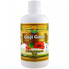 Сок годжи, Goji Gold, Dynamic Health, органик, 946 мл
