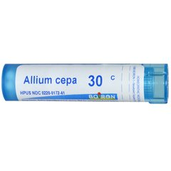 Лук репчатый (Allium cepa) 30C, Boiron, Single Remedies, примерно 80 драже