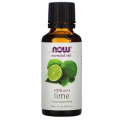 Эфирное масло лайма Now Foods (Essential Oils Lime Oil) 30 мл