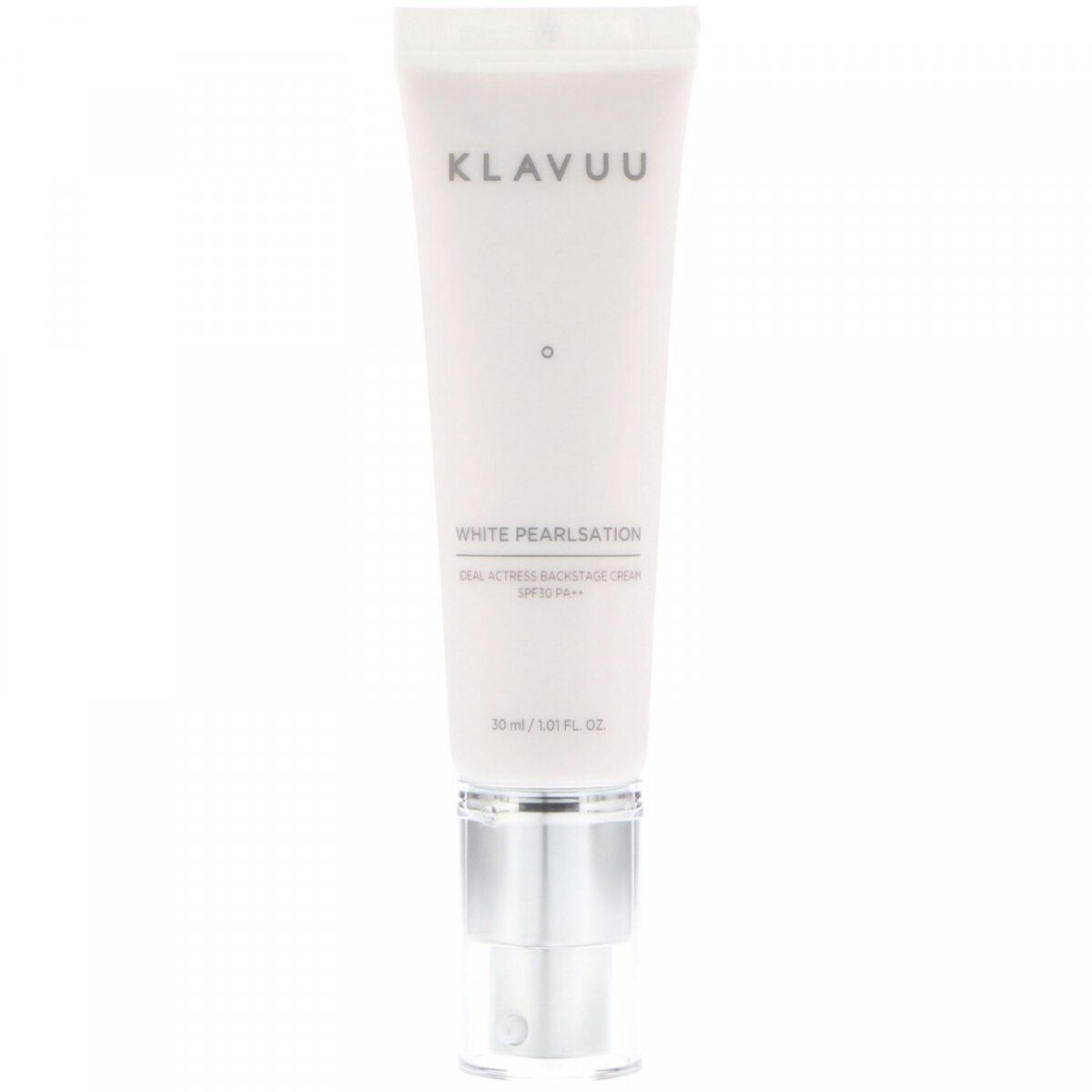 Крем для лица, White Pearlsation, Ideal Actress Backstage Cream, SPF30 PA ++, KLAVUU, 30 мл