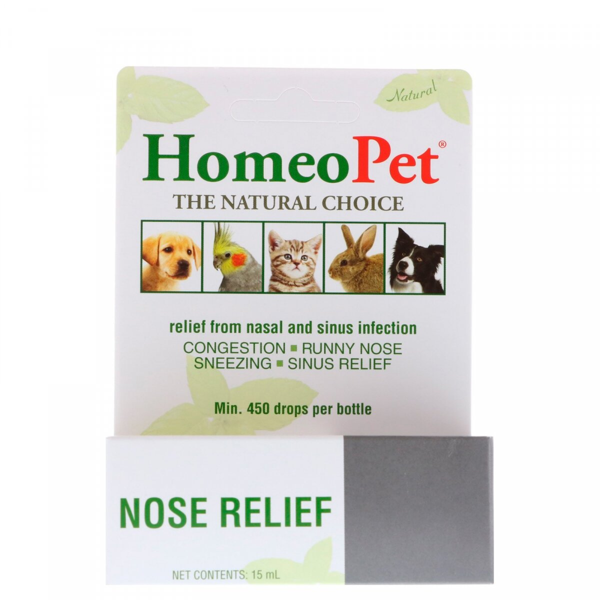 Nose Relief, HomeoPet, 15 мл