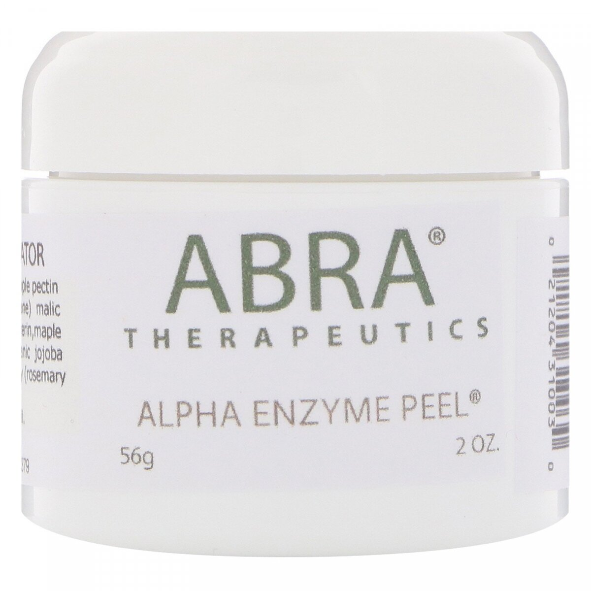 Маска для лица, Alpha Enzyme Peel, Abra Therapeutics, 56г