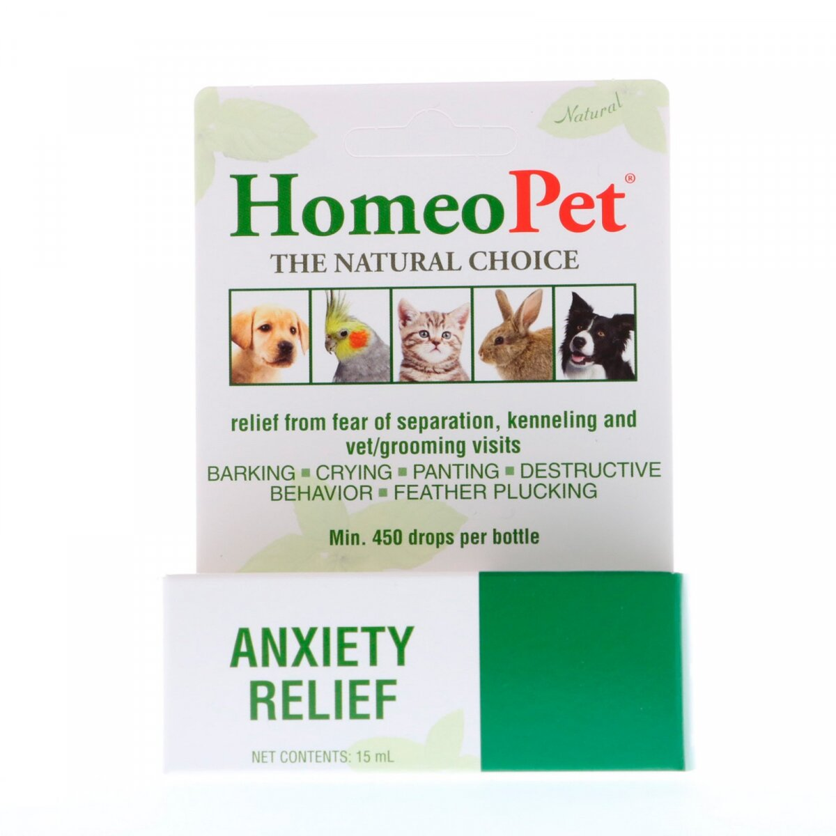Anxiety Relief, HomeoPet, 15 ml