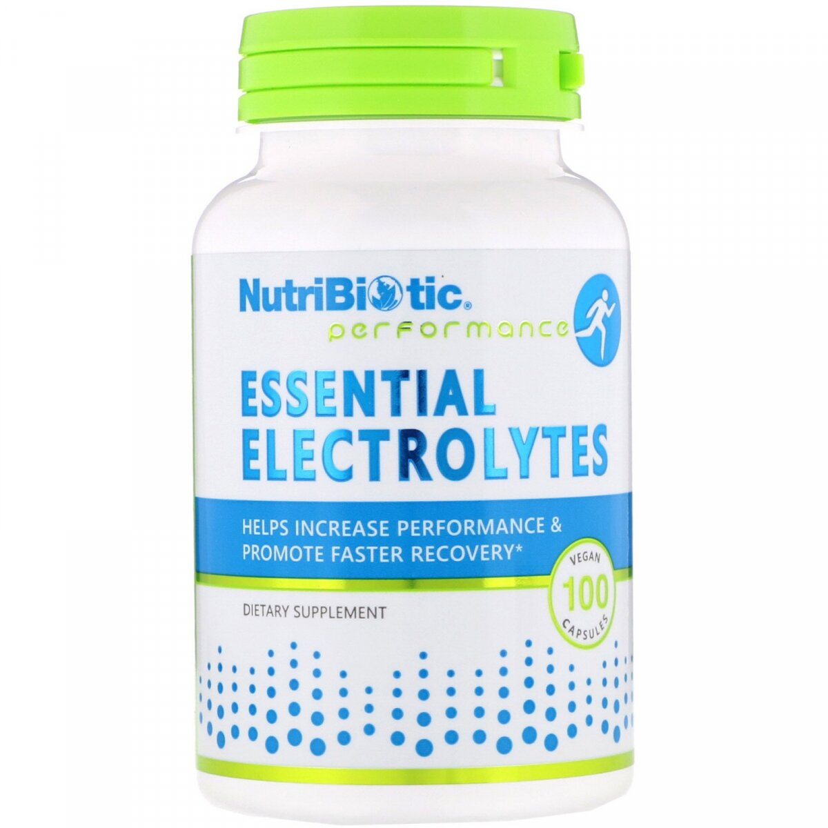 Электролиты, Essential Electrolytes, NutriBiotic, 100 капсул