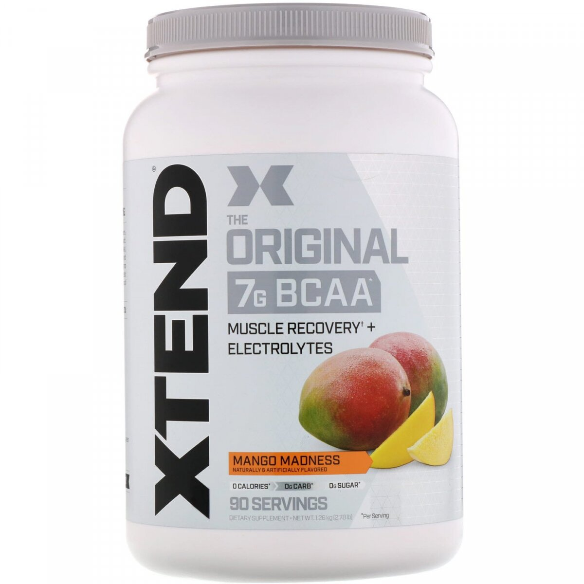 Scivation, Xtend, ВСАА, манго, 43,8 унций (1243 г)