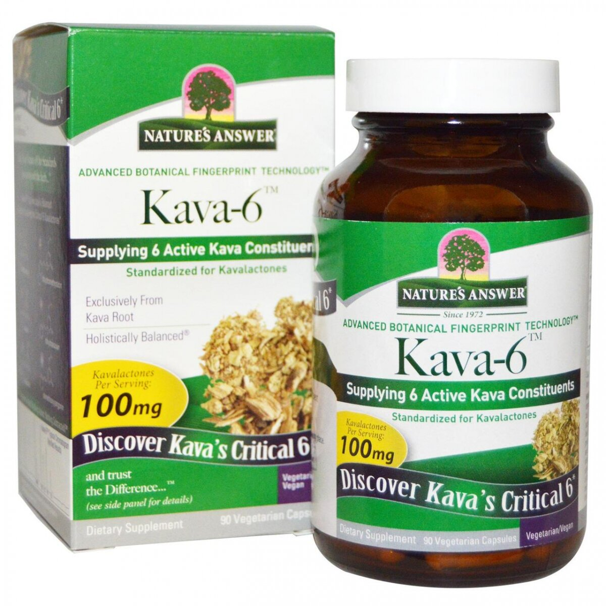 Кава6, Kava 6, Nature's Answer,