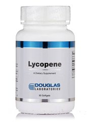 Ликопин, Lycopene, Douglas Laboratories, 90 капсул