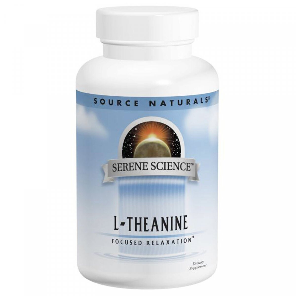 L-Тианин, Source Naturals, 200 мг, 60 капсул
