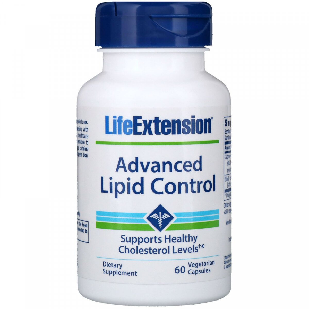 Уровень липидов: усовершенствованная формула (Lipid Control), Life Extension, 60 капсул